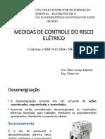 Medidas de Controle Risco Eletrico