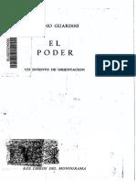 El Poder. Un intento de orientación - Romano Guardini (V3).pdf