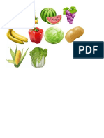 Fruits and Vwge
