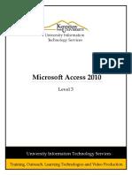 0330 Microsoft Access 2010 Level 3