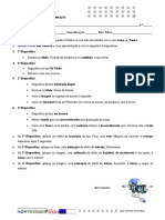Ficha Avaliação 2ª TIC 7ºAF