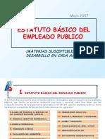 Estatuto Básico Empleo Público