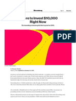 Top Investment Advisors_ Where to invest $10,000 in 2019