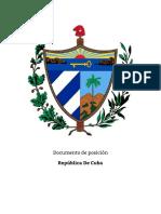 Doc. de Posición Ejemplo