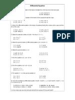 Problem Set 4 - Differential Equation-Probabilty and Statistics