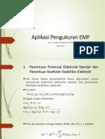 Aplikasi Pengukuran EMF