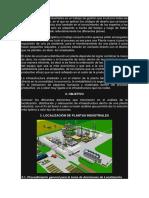 El Diseño de Plantas Industriales Es Un Trabajo de Gestión Que Involucra Todas Las Ramas de La Ingeniería