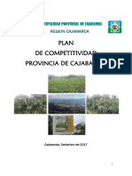 Plan Competitividad Cajabamba 2017