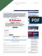El Peruano - Declaran días no laborables en el sector público correspondientes al año 2019 - DECRETO SUPREMO - N° 002-2019-PCM - PODER EJECUTIVO - PRESIDENCIA DEL CONSEJO DE MINISTROS