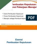 Materi 03 MAN - Manajer Sebagai Pembuat Keputusan-1