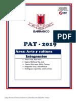 Pat Arte y Cultura 2019