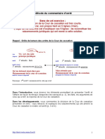 Methode Commentaire d Arret (1)