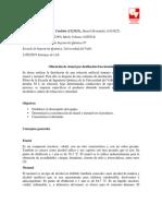 Preinforme Destilacion