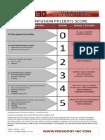Phlebitis Scale Aj
