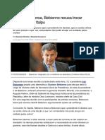 Bebianno ameaça Bolsonaro