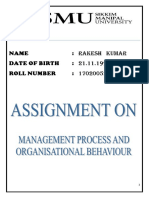 Management Process and Organisational Behaviour.docx