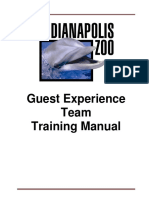 2019 guest experience training manual
