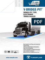 V Bridge Pit Truck Scale