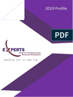 Experts Profile 2019