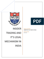 21714- HARSH PANDEY- INSIDER TRADING AND ITS LEGAL MECHANISM IN INDIA (1).docx