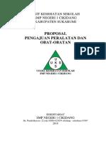 Proposal Pengadaan Obat Dan Peralatan Uks