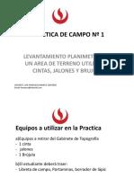 Topografia - Practica de Campo Nº 1