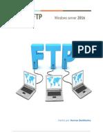 Manual de instalación de un servidor FTP
