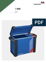 Testrano 600 User Manual Esp