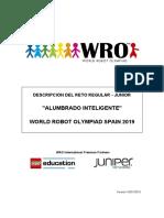 WRO 2019 Descripcion Del Reto Junior