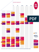 Planning Cours Neoness Place d'Italie