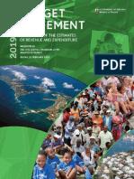 2019-2020 Budget Statement Bermuda