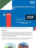(1) Diseño de Instalaciones Fotovoltaicas en Chile-Mod Jcc