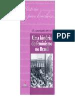Uma Historia Do Feminismo No Brasil Em PDF