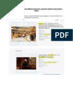 Pequeño Manual de Estilo Documentación Archivo de Imágenes