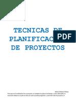 Tecnicas de Planificacion de Proyectos