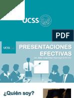 LUIGI HUARCAYA - Charla - Presentaciones Efectivas UCSS 2018