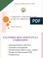 Corrosion Acero Ambientes Marinos Daniel