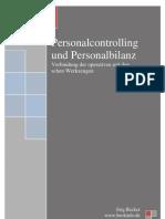 Personalcontrolling und Personalbilanz
