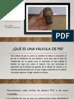 Perdidas en Válvulas de Pie Con Pichancha