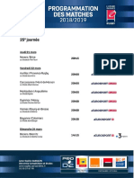 J25 - Programmation PRO D2