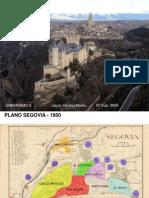 Evolucion urbana Segovia