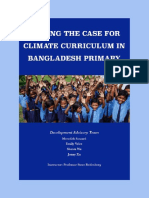 Climate Change Education in Bangladesh