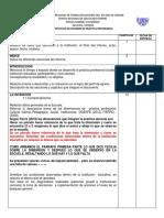 Protocolo de Informe de Prácticas 2017