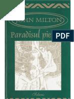John Milton - Paradisul Pierdut
