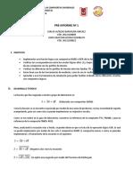 Pre Informe 01 Electrónica Digital
