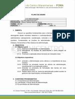 PLANO de ENSINO Teoria Da Administração (1) - Cópia
