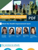 Healthy Eating Workshops for Parents PPT