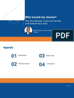 Ark Library 2019 - Who Moved My Cheese_ How Firm Libraries Create New Top-line (and Bottom-line) Value