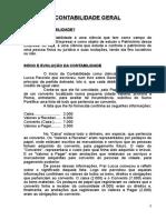 Apostila de Contabilidade Geral( Professo Carlos Resende)