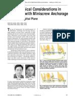 biomechanics of miniscrew implants
